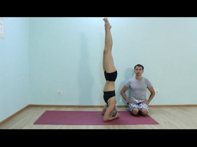 42 Shirshasana
