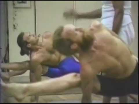 Ashtanga advanced practice with Sri K Pattabhi Jois 1989 Encinitas (3 серия)