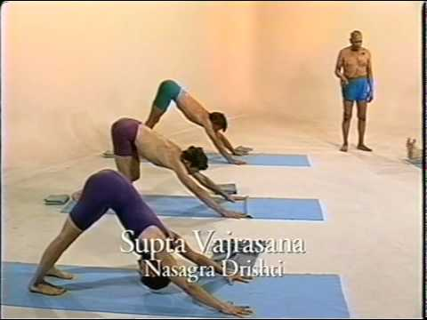 Ashtanga Yoga Intermediate Series with Sri K. Pattabhi Jois (2 серия)